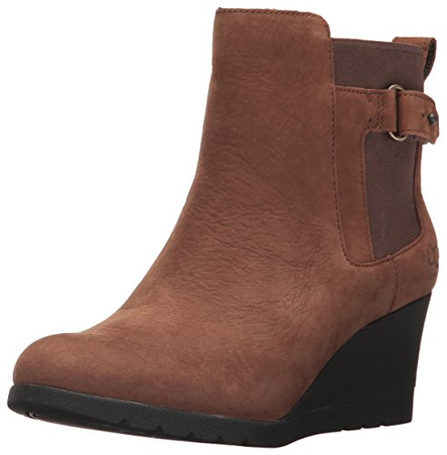 UGG Women's Indra Combat Boot, Stout, 7.5 M US (Ugg Women Wedge Boots)