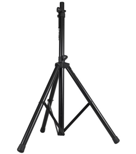 Shaft Tube Case Black (ProX Cases T-SS18 Black Heavy Duty Tripod Pole-Mount Professional Speaker Stand With Non-Slip Rubber Feet And Black Powder Coat Finish)
