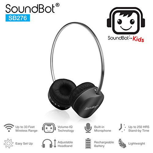 SoundBot for Kids SB276 Volume-IQ Technology 85dB Safe for K