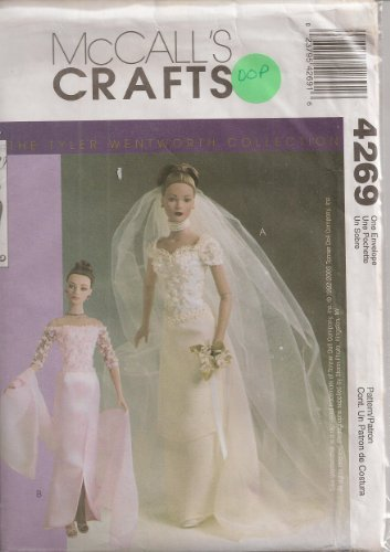 "McCalls 4269, 11 1/2"" Fashion Doll Clothes, One Size"