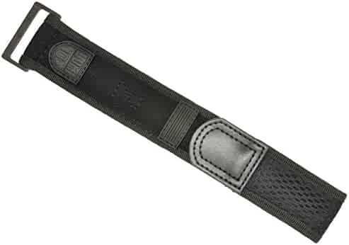 Luminox Black Out Watch Band Nylon Velcro Navy Seals 22/23 mm Series 3000/3900/3050/3080