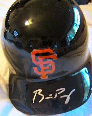 Autographed Baseball Batting Helmet (Buster Posey San Francisco Giants Autographed Batting Helmet)