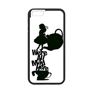 iPhone 6 Case,iPhone 6 (4.7) Case [Alice in Wonderland] Protective Cover Skin for iPhone 6, Hard Case for iPhone 6 (4.7 inch)