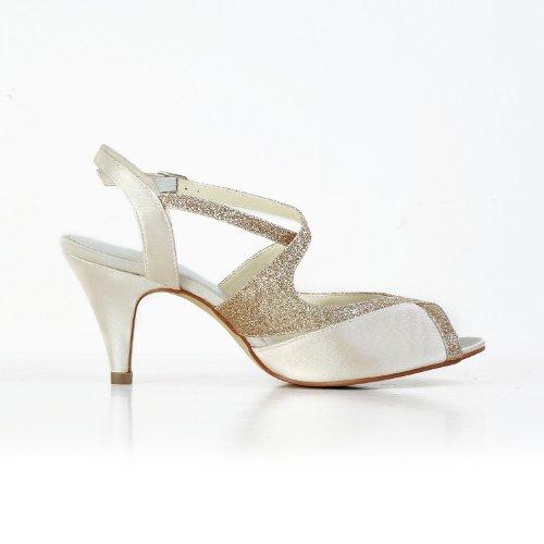 Scarpe Tacco 594949 Sekt Jia Wedding Donna Sposa Col g4qaxp