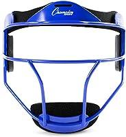 Champion Sports Fielder's Face Mask Softball Fielder's Face Mask, Blu