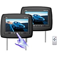 Tview T921PL-BK 9-Inch Monitor Built in Car Headrest (Black)