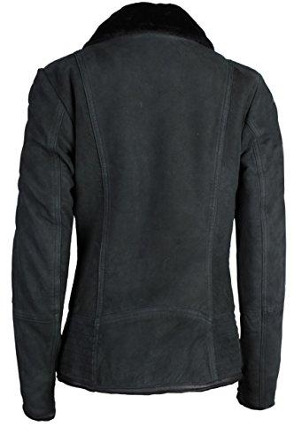 Fit Urban Giubbotto Vestiti Nero Black Trueprodigy Classic Vintage Giacca Abbigliamento amp; Donna Di 2999 3773502 sportiv Slim Casuale Moda Colore Pelle qxpY7E