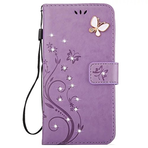 J7 2016 Wallet Case,Samsung Galaxy J7 2016 Cover Case Flip Case Handmade 3D Bling Diamond Luxury Wallet PU Leather Card Holder Cover Magnetic Bookstan…