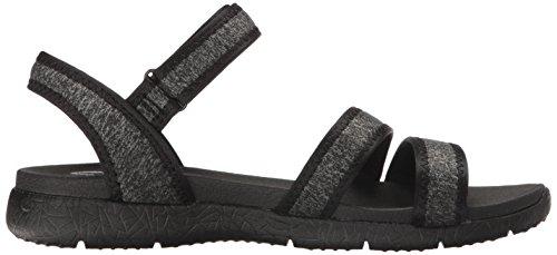 Skechers Microburst Puro Chill Sandalias Negro Negro