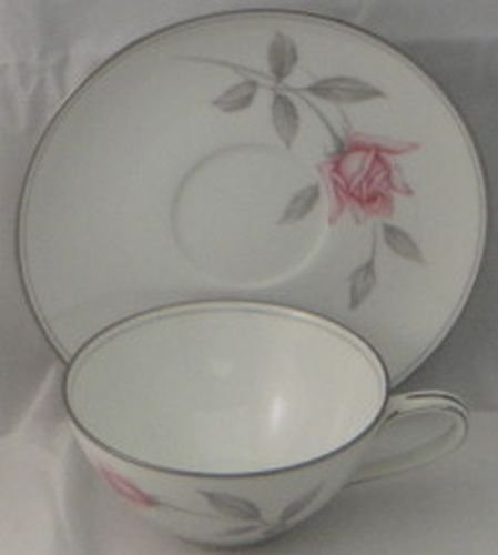 - Noritake Rosemarie Cup & Saucer (Imperfect)