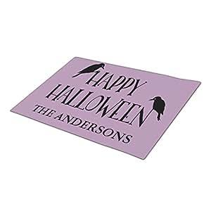 AbbyDay Doormat Spooky Typography Birds Funny Doormats One size