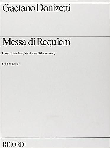 Livre gratuits Messa Di Requiem epub pdf