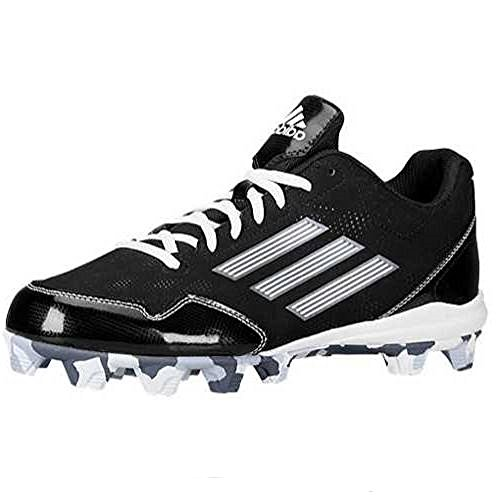Image of adidas Performance Men's Wheelhouse 2 Baseball Cleat, Black/White, 8.5 M US