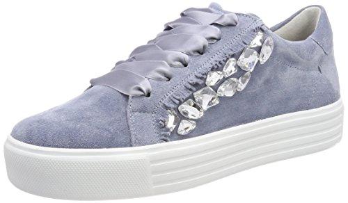 Crystal Up Cielo und Schmenger Azul Zapatillas Mujer Sohle Blanco para Kennel WRa8ZUqAwA