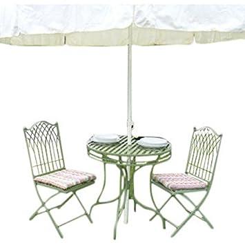 Tradicional 2 Bistro juego de muebles de jardín - incluye mesa con ...