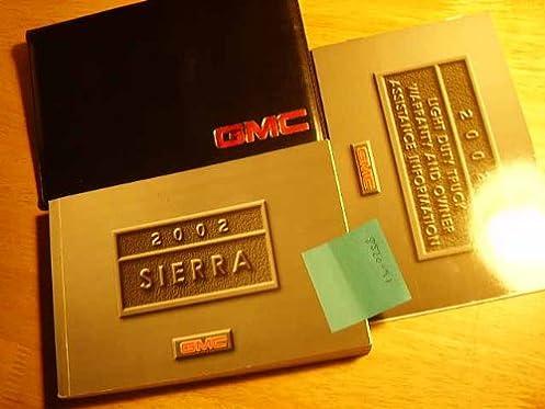 2002 gmc sierra owners manual gmc amazon com books rh amazon com owners manual 2002 gmc sierra 2500 hd duramax owners manual 2002 gmc savana
