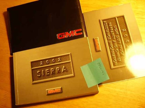 Gmc Sierra Owners Manual - 2002 GMC Sierra Owners Manual