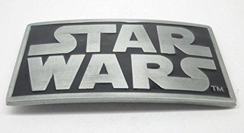 Star Wars Logo Belt - Pewter Belt Buckle Cartoon Star Wars Logo CA-052