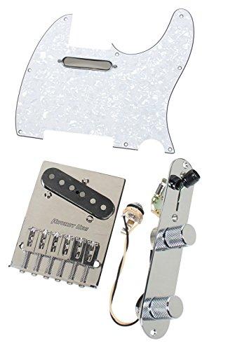Fender Tele Telecaster Loaded Pickguard Texas Special Pickups Hipshot Bridge WP