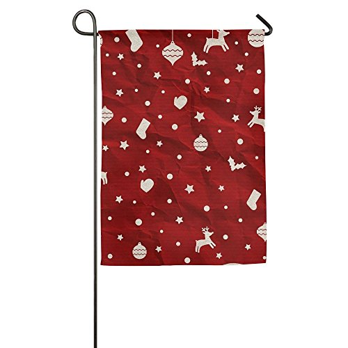 Holiday Costumes House Columbus (Happy Red Holiday Indoor Outdoor Garden Flag House Decorative Garden Flag Polyester Flag Banner 1218inch 1827inch For Choose)