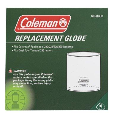 Coleman Globe Fits Coleman Lanterns No'S. 220, 220d Thru K 228b Thru J, 235, 290, 290a & 295 ()