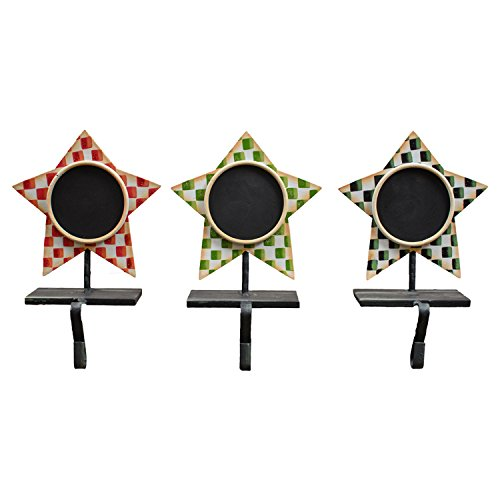 Package of 3 Star Stocking Holders
