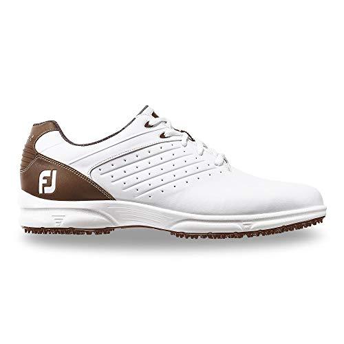 FootJoy Men's FJ ARC SL-Previous Season Style Golf Shoes White 10.5 M Brown, US