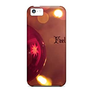 Feel The Christmas Spirit Cases Compatible With Iphone 5c/ Hot Protection Cases