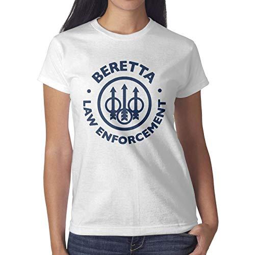 Songwriter Womens Best-Beretta-Funny-Logo-Short Dance/EDM Tee Shirt - Songwriter Magazine
