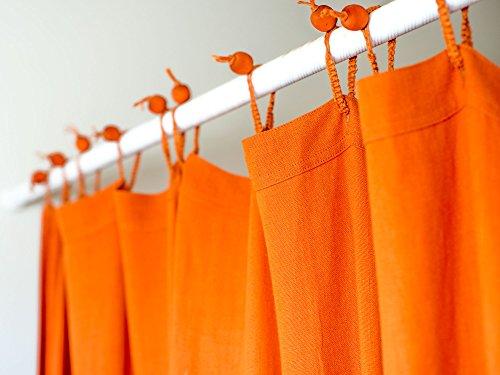 Organic Hemp Shower Curtain Full Size (73.5