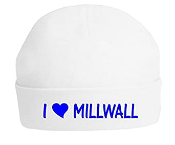 The Bees Tees Baby's Football Beanie Hat - I Love Millwall