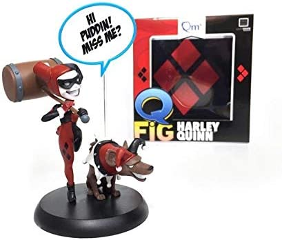 QFig Harley Quinn Loot Crate Exclusive Adult Collectable Quantum Mechanix