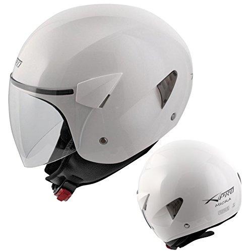 A-Pro Motorhelm Motorcycle Roller Jet Helm Demi Jet Scooter Homologed