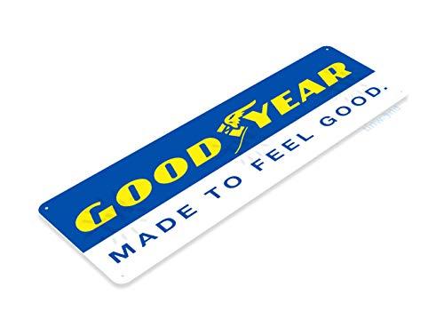 (Tinworld Tin Sign Good Year Auto Shop Store Metal Sign Decor Sign Garage Tire Shop Garage B045)
