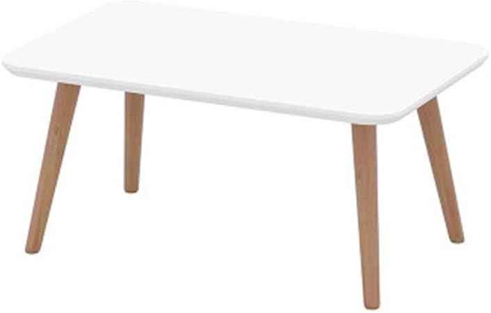 Owenqian Cafe Sofa Table D Appoint Petit Blanc Frais Table Basse Tatami Table Basse Cafe The Canape Table D Appoint Famille Salon Couleur White Size M Amazon Fr Cuisine Maison