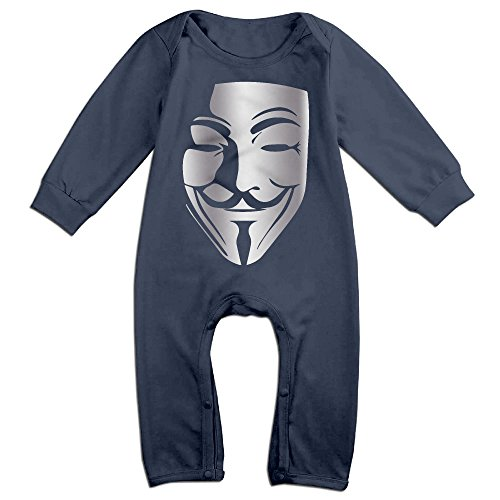 Baby Boys' V For Vendetta Platinum Style Romper Jumpsuit Outfits