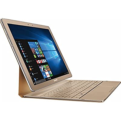 2 in 1 Laptops Samsung Galaxy TabPro S 12' Full HD+(2160x1440) High Performance TouchScreen Convertible 2-in-1 Laptop, Intel Core M3, 8GB RAM, 256GB SSD, Win10, Gold
