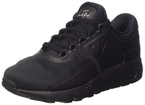 Nike Men Air Max Zero Essential Trainers, Black Black (Black/Black Black)