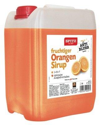 SPITZ ORANGEN Fruchtsirup 5 Liter Box
