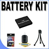 BP-DC4 Replacement Lithium Ion Battery BigVALUEInc Accessory Saver Bundle for Leica CLUX DLUX Digital Cameras