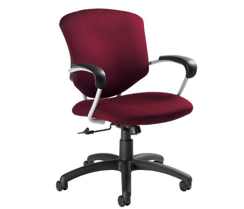 Tilter Task Chair (Supra Mid-Back Pneumatic Tilter Office Chair with Arms Finish: Sapphire, Arms: Included)