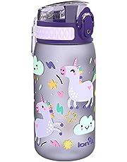 Ion8 Lekvrije Waterfles Kinderen, BPA-vrij, Eenhoorns