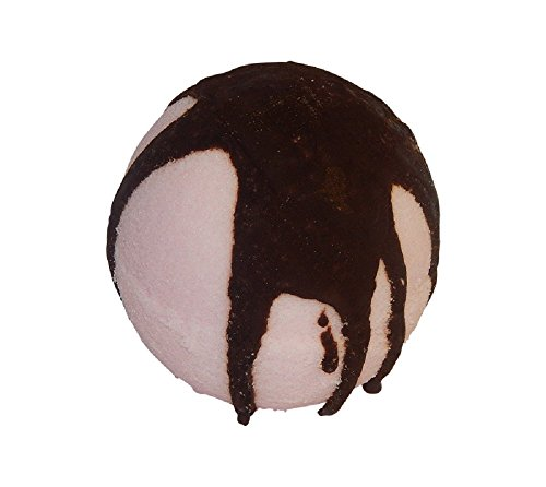 Chocolate Covered Strawberry Bubble Bath Bomb, Safe, Natural, Made in the U.S.A. By Diva (Hot Stuff Hand Warmers)