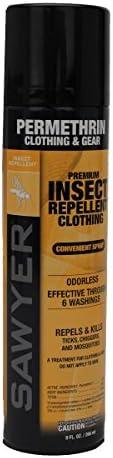 Sawyer Permethrin Clothing Repellent Aerosol product image