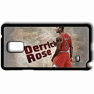 Personalized Samsung Note 4 Cell phone Case/Cover Skin 14697 bulls wp 50 sm Black by lolosakes