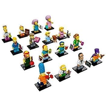 LEGO Bauanleitung COMPLETE SET OF SIMPSONS SERIES 2 LEGO Bauanleitungen