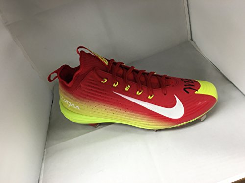 mike-trout-autographed-signed-authentic-game-model-cleat-exact-shoe-he-wears-mlb-authenticated
