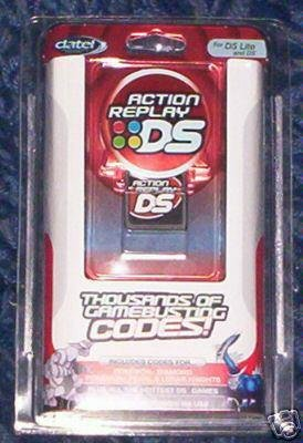 DS Lite Action Replay Nintendo DS Lite