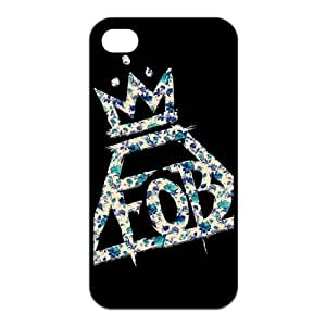 Cyber Monday Store Customize Rubber iPhone 4 iPhone 4s Back Cover Case Fall Out Boy