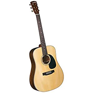 Blueridge BR-60A Contemporary Solid Adirondack Spruce Top Dreadnaught Guitar with Santos Rosewood Back